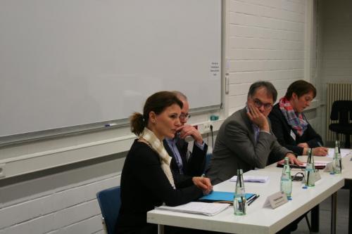 Podiumsdiskussion mit Tilman Mayer, Friederike Dahns und Nikola Sander